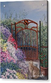 Jerrys Garden Acrylic Print