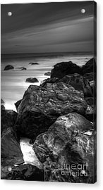 Jersey Shore At Night Acrylic Print by Paul Ward