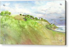 Jersey Shore Uk Acrylic Print