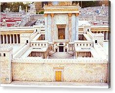 Jerusalem 70 Ad Acrylic Print by Thomas R Fletcher