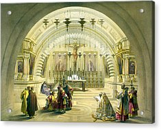 Jerusalem Calvery Acrylic Print