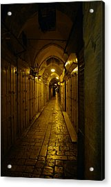Acrylic Print featuring the photograph Jerusalem Of Copper 1 by Dubi Roman