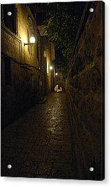 Acrylic Print featuring the photograph Jerusalem Of Copper 2 by Dubi Roman