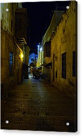 Acrylic Print featuring the photograph Jerusalem Of Copper 3 by Dubi Roman