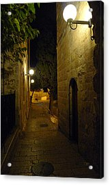 Acrylic Print featuring the photograph Jerusalem Of Copper 4 by Dubi Roman