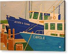 Jessica And Susan Acrylic Print by Biagio Civale