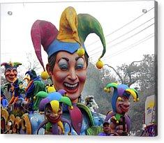 Jesters On Parade Acrylic Print