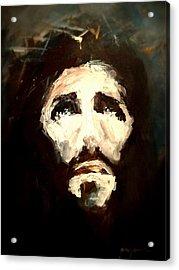 Jesus - 2 Acrylic Print by Jun Jamosmos