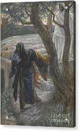 Jesus Appears To Mary Magdalene Acrylic Print by Tissot