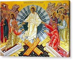 Jesus Bliss Acrylic Print