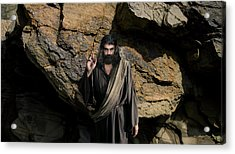 Jesus Christ- Be Blessed And Prosper Acrylic Print