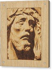 Jesus Christ Acrylic Print by Conrad  Pinto