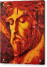 Jesus Christ - Da Acrylic Print by Leonardo Digenio