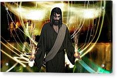 Jesus Christ- God Shines In Glorious Radiance Acrylic Print