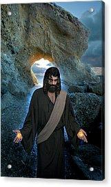 Jesus Christ- I Am With You Always Acrylic Print