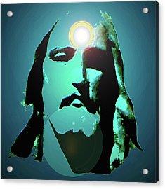 Jesus Christ No. 02 Acrylic Print by Ramon Labusch
