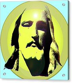 Jesus Christ No. 03 Acrylic Print by Ramon Labusch