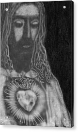Jesus Christ Acrylic Print by Art Spectrum