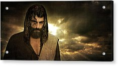 Jesus Christ- Will You Hear Me Shout Come Up Acrylic Print