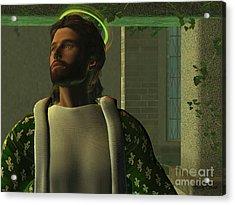 Jesus Acrylic Print by Corey Ford