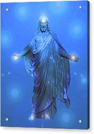Jesus-energy No. 13 Acrylic Print by Ramon Labusch