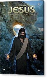 Jesus- I Am With You Always Acrylic Print