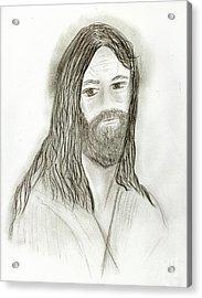 Jesus I Acrylic Print by Sonya Chalmers
