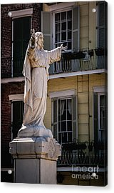 Jesus In The Garden - New Orleans Acrylic Print