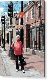 Jesus Is Savior Acrylic Print