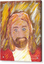 Jesus Is The Christ The Holy Messiah 5 Acrylic Print by Richard W Linford