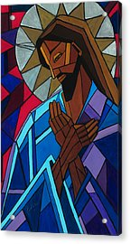 Jesus Acrylic Print by Mary DuCharme