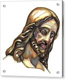 Jesus No 3 Acrylic Print by Edward Ruth