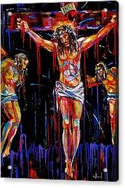 Jesus Of Nazareth Acrylic Print by Debra Hurd