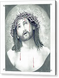 Jesus Of Nazareth Acrylic Print by Julian  B