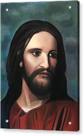 Jesus Of Nazareth - King Of Kings Acrylic Print