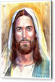 Jesus Of Nazareth Painting Acrylic Print