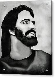 Jesus Acrylic Print by Pennie  McCracken