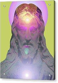 Jesus Portrait No. 03 Acrylic Print by Ramon Labusch
