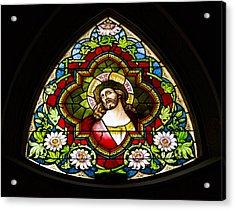Jesus Redeemer Acrylic Print by Stephen Stookey