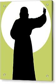 Jesus Shape No. 02 Acrylic Print by Ramon Labusch