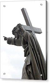 Jesus Acrylic Print by Stanislovas Kairys