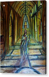 Jesus The Lamb Of God Acrylic Print