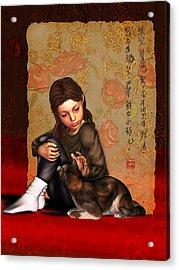 Jesus To A Child I Acrylic Print
