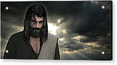 Jesus- Will You Hear Me Shout Come Up Acrylic Print