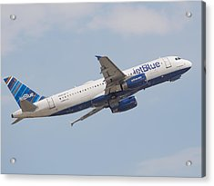 Jet Blue Acrylic Print