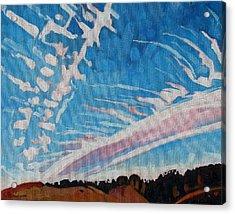 Jet Stream Acrylic Print