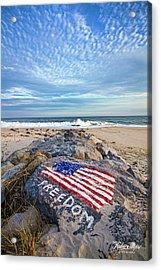 Jetty Four Beach Acrylic Print