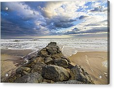 Jetty Four Cloudscape Acrylic Print