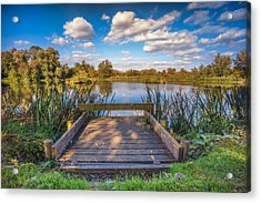 Acrylic Print featuring the photograph Jetty by James Billings