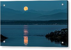 Jetty Moonbeam Acrylic Print